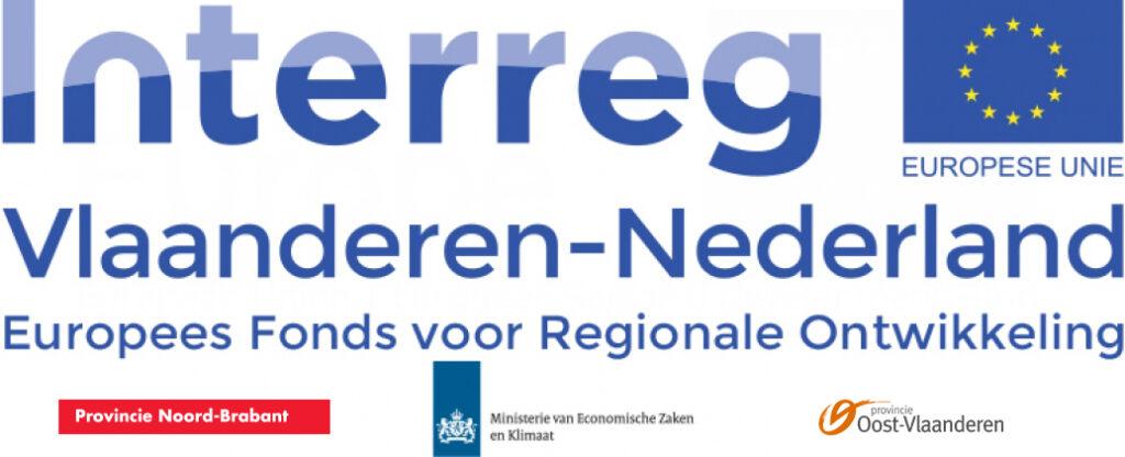 Interreg Vlaanderen-Nederland, Provincie Noord-Brabant, Ministerie van Economische Zaken en Klimaat, Provincie Oost-Vlaanderen